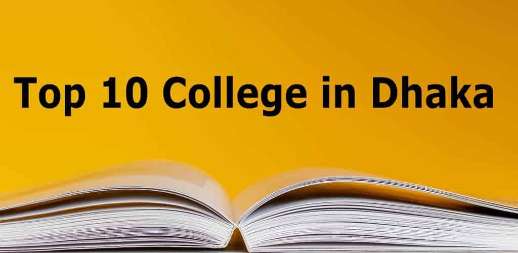 top ten college in dhaka board