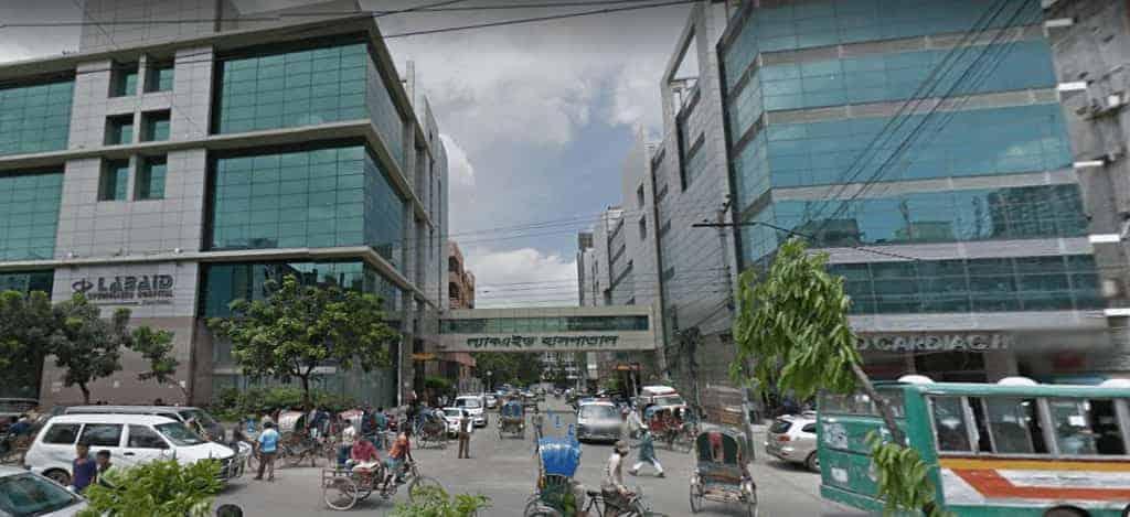 LABAID Specialized Hospital Building