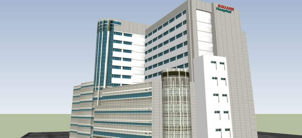 top 10 hospitals in Bangladesh Square Hospital